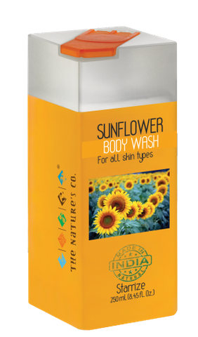 SUNFLOWER BODY WASH (250 ml)