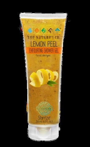 LEMON PEEL EXFOLIATING SHOWER GEL (250 ml)