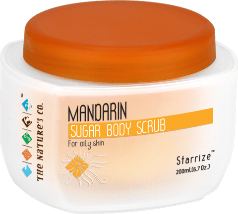 MANDARIN SUGAR BODY SCRUB (200 ml)