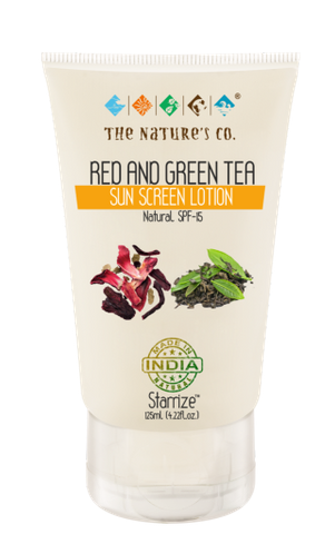 RED AND GREEN TEA SUN SCREEN LOTION (125 ml)