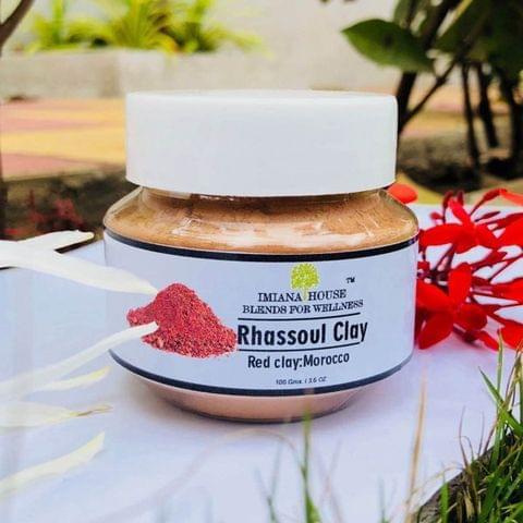 Rhassoul Red clay Powder – Morrocon