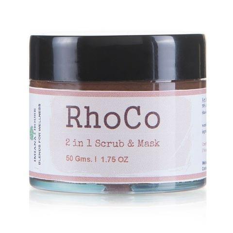 Rhoco 2 in 1 mask & Scrub