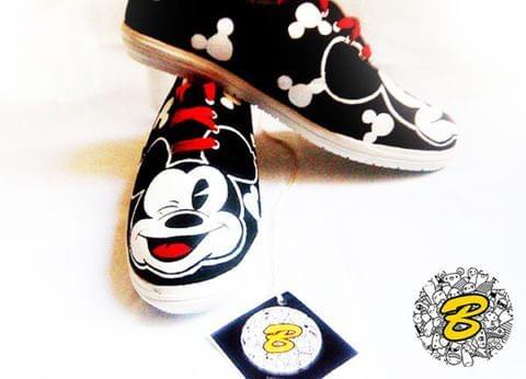 MICKY Canvas Shoe