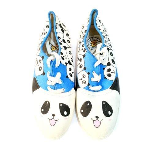 PANDA Canvas Shoe