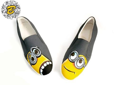Minion Gray Slip-on