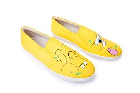 SpongeBob Canvas Slip on