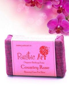 Organic Country Rose Soap