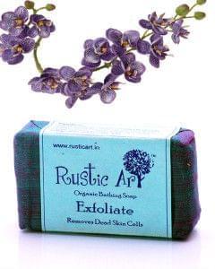 Organic Exfoliate Soap