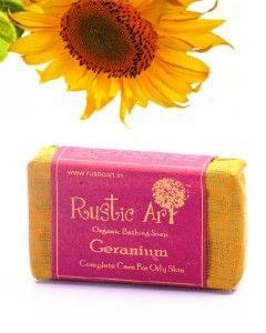Organic Geranium Soap