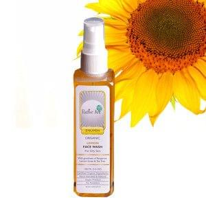Organic Lemon Face Wash (100mL)