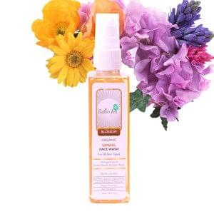 Organic Sandal Face Wash (100mL)