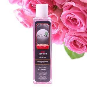 Biodegradable Rose Shampoo (200 mL)