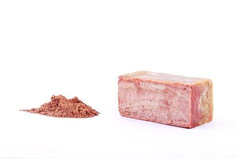 FRENCH PINK CLAY + GRAPEFRUIT . BATH SOAP