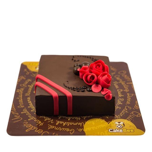 Chocolate Bud Cake
