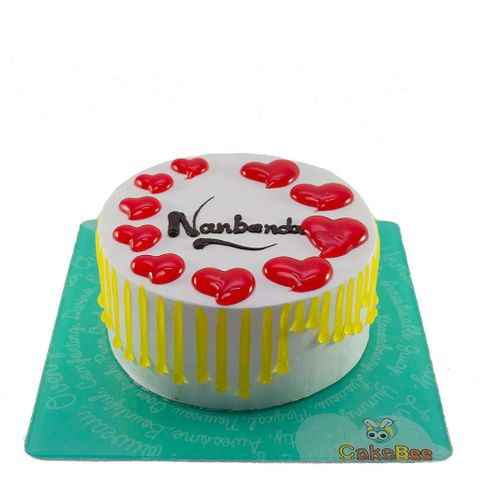Nanbenda Friendship day Cake