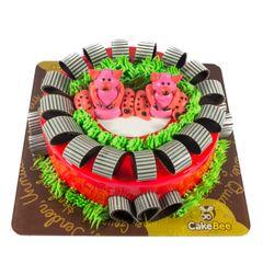 Twin Teddies Cake