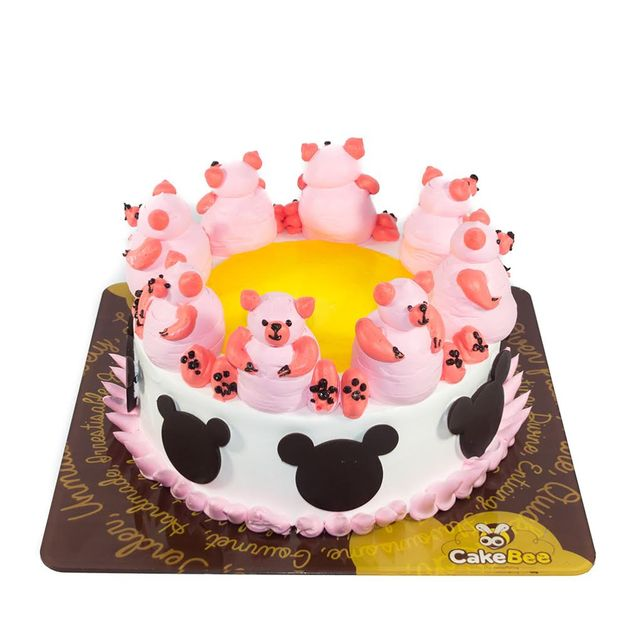 Army of Teddies Cake