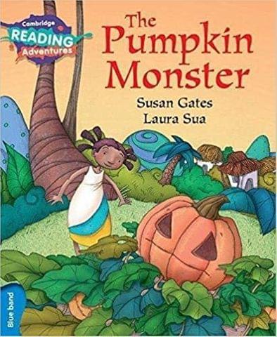 Blue The Pumpkin Monster