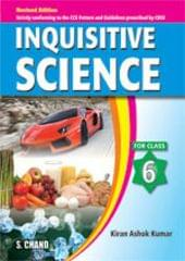 INQUISITIVE SCIENCE FOR CLASS 6