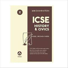 Oswal ICSE MODEL SPECIMEN PAPERS OF HISTORY & CIVICS Class 10 for 2018 Exam