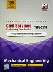 Civil Services Preliminary Examination 19982010: Mechanical Engineering Previous Solved Papers