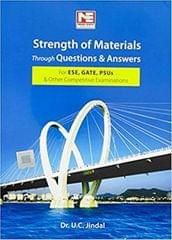Strength of Materials through Questions & Answers for ESE, GATE & PSUs