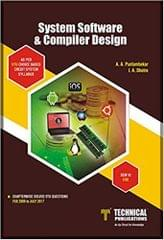 System Software and Compiler Design for VTU ( SEM-VI CSE COURSE-2015)