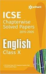 ICSE Chapter Wise Solved Papers 2005-2015