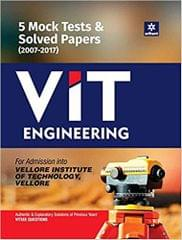 5 Mock Tests & Solved Papers (20072017) for VIT Engineering
