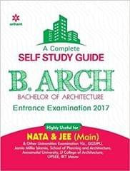 A complete Self Study Guide for B.Arch Entrance Examination 2018