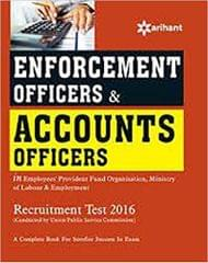 Enforcement Officers & Accounts Officers