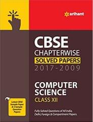 CBSE Computer Science Chapterwise Solved Papers