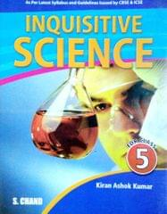 INQUISITIVE SCIENCE FOR CLASS 5