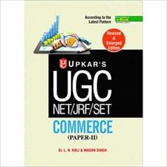 UGC NET/JRF/SET COMMERCE(PAPER-11)