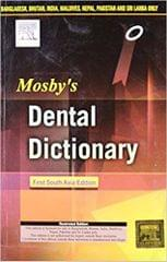 Mosby's Dental Dictionary: First South Asia Edition