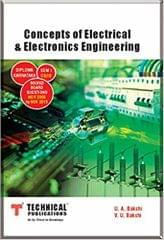 Concepts of Electrical & Electronics Engineering for CEEE (CS/IS Sem-I 2015 COURSE)....Technical Pub