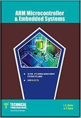 ARM Microcontroller & Embedded Systems for VTU (SEM-VI EC/TC COURSE-2015)