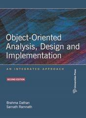 ObjectOriented Analysis, Design and Implementation: An Integrated Approach