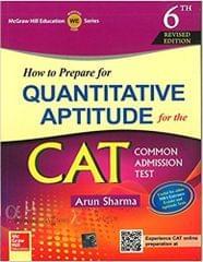 How to Prepare for Quantitative Aptitude for the CAT (English) 6th Edition