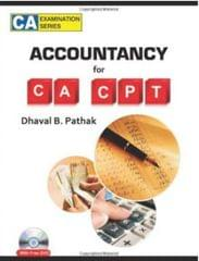 Accountancy for CA-CPT (With CD) 1st Edition