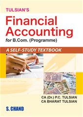 TULSIAN'S FIN.ACCOUNTING FOR B.COM HONRS
