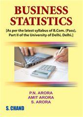 BUSINESS STATISTICS FOR B.COM(P)