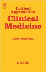 CRITICAL APPROACH TO CLINICAL MEDICINE