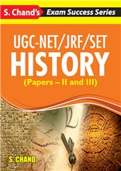 UGCNET/JRF/SET HISTORY (PAPERS  II AND