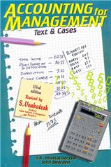 ACCOUNTING FOR MANAGEMENT: TEXT AND CASE