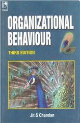 ORGANIZATIONAL BEHAVIOUR  THIRD EDITION