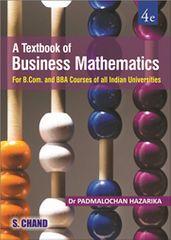 BUSINESS MATHEMATICS (FOR B.COM, BBA, BB