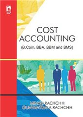 COST ACCOUNTING (FOR B.COM, BBA, BBM AND