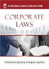CORPORATE LAW (FOR B.COM, SEM.2, DELHI