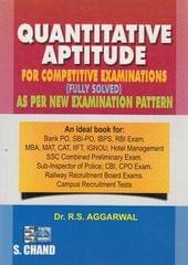 Quantitative Aptitude for competitive-books Examinations 4th Edition